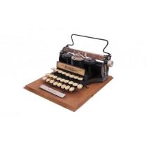 Dekoratif Metal Daktilo Minİ Dekor Yazı Yazma Makinesi