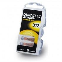 DURACELL PR 312 PR41 6 LI PAKET