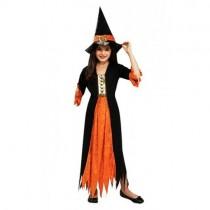 Cadı Kostümü Çocuk Halloween Kostümü