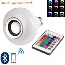 Uzaktan Kumandalı Bluetoothlu Speaker Lamba Telefon Hoparlör