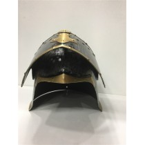 Medieval Knight Başlığı Gümüş Renk SMR23