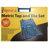 Rıco 110 Parça Pafta Klavuz Seti Rico 110 PC Pafta Klavuz Takımı