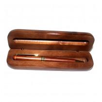 Hediye Bambu Kutulu Kalem Seti Ahşap Tükenmez Kalem Kalemlik Seti