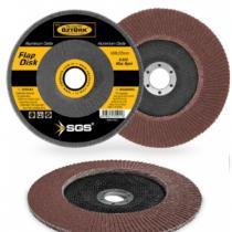 SGS 180MM P40-P60-P80-P100-P120 Kum Flap Disk Zımpara Kum Zımpara
