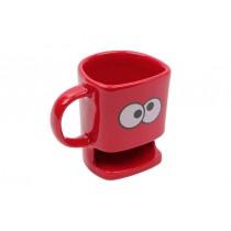 Kupa Kurabiye Yuvalı Minion Kırmızı Çay Bardağı Kahve Fincanı Ter