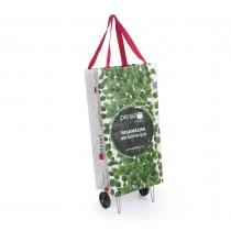 Katlanabilir Tekerlekli Pazar Arabası Alışveriş Çanta