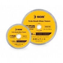 SGS 115MM-180MM-230MM Turbo Kanal Elmas Testere Asfalt Beton Taş