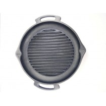 30 cm 3,5 Kg El Yapımı Demir Döküm Tava Steak Tava Et Tava