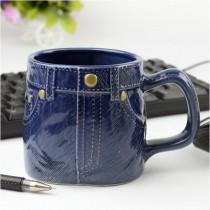 Kot Pantolon Şeklinde Kupa Bardak Kahve Bardağı Çay Bardağı