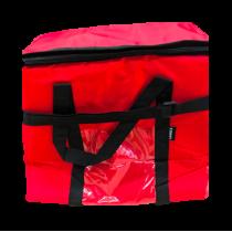 Kırmızı 32 Litre Termos Çanta Araç Soğutucu Plaj Piknik Çantası