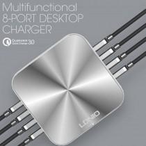Ldnio A8101 3.0 8 Port USB Girişli Şarj Cihazı Telefon Şarj Cihaz