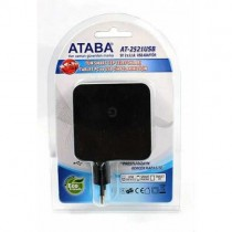 ATABA AT-2521 USB ADAPTÖR (5V-2.1AX2) TELEFON TABLET ŞARJ CİHAZI