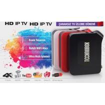 Technobox Thor 4k Çanaksız HD Uydu Alıcısı İnternet Tv