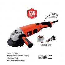 Bay-tec Avuç Taşlama Makinası Spiral Taşlama 125mm A113
