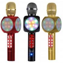 Wster WS-1816 Led Işıklı Karaoke Mikrofon Bluetooth Usb Sd Kart