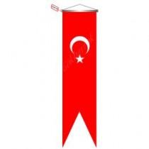 50x200 CM Türk Bayrağı Kırlangıç Flama