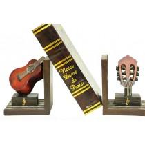 Kitap Stoper Kırmızı Gitar Kitaplık Raf