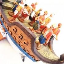 Osmanlı Savaş Gemisi ve 12 Adet Denizci Asker