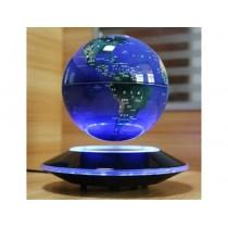 Manyetik Havada Dönen Işıklı Sihirli Dünya Küre
