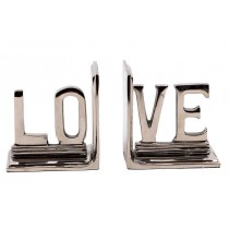 Kitap Destiği Love Alüminyum Kitaplık Raf Kitap Tutucu Kitap Ayra