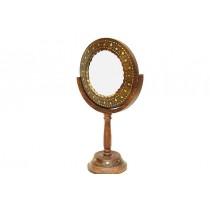 Ayna Stand'lı Makyaj Aynası Döner Başlıklı Ayna