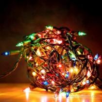 Yılbaşı Ağacı Led Işık-Led Işık-10 mt 100 Adet Ledli