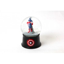 Kar Küresi Mini Captain America Müzikli Kar Küresi