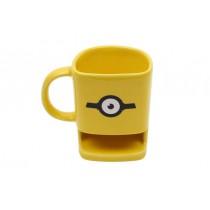 Kupa Kurabiye Yuvalı Minion Sarı Çay Bardağı Kahve Fincanı Termos