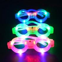 12 Adet Işıklı Parti Gözlüğü Karışık Renk
