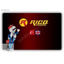 RICO PROFESYONEL 1.KALİTE KUYUMCU MAKASI EĞRİ