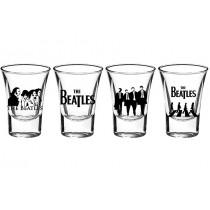 Beatles 4'lü Shot Bardak
