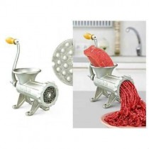 Tuğra Çelik Kıyma Makinesi Çevirme Kollu NO 22 Et Çekme Makinası