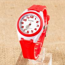Startime Kırmızı 100m Su Geçirmez Alarm Kız-Erkek Çocuk Kol Saati