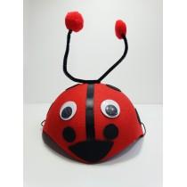 Çocuk Uğur Böceği Şapkası Parti Çocuk Kostümü