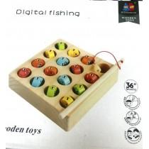 Ahşap Balık Yakalama Oyunu Zeka Mantık ve Strateji Oyunu