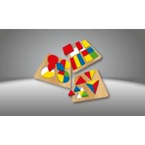 KS Games Renkler ve Şekiller Okul Öncesi Eğitici Zeka Akıl Oyunu