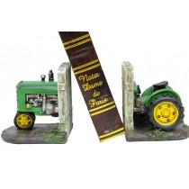 Kitap Stoper Traktör Yeşil Çift Taraflı Kitap Tutucu
