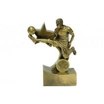 Biblo Futbolcu Plaket Ödül Hediyelik Futbolcu Maket