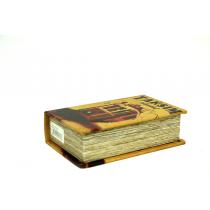 Kitap Kutusu Taksim Desenli Kitap Kılıfı Kitap Raf
