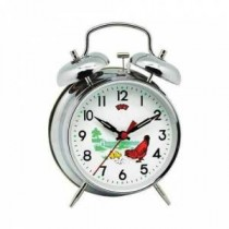 Çalar Saat Tavuklu Saat Masa Saati Nostaljik Kurmalı Masa Saati