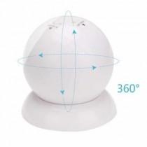 Pilli Ledli 360 Derece Dönen Hareket Sensörlü Pilli Gece Lambası