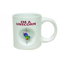 Beyaz Unicorn Kupa Unicorn Bardak