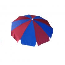 2 mt Gabardin Kumaş Eğilebilir Plaj Şemsiyesi BİDON DAHİL