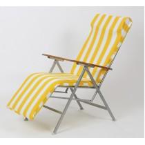 Katlanır Yatarlı Şezlong Koltuk Yatak Plaj Sandalye