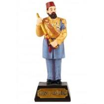 Sultan 2. Abdulhamit Biblosu Padişah Maketi Biblo