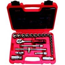 Rico 007-RC2326 24 Parça 3/8 Uzatmalı Lokma Seti 10-22mm