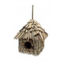 Ahşap Kuş Yuvası Kuş Evi  El Yapımı  Bahçe Dekoru El Yapımı Hayvan Evi