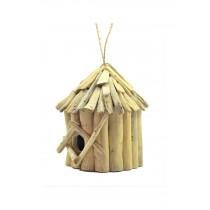 Ahşap Kuş Yuvası Kuş Evi  El Yapımı  Bahçe Süsü El Yapımı Hayvan Evi