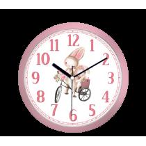 30 Cm Tavşan Temalı Çocuk Duvar Saati Çocuk Odası Saat