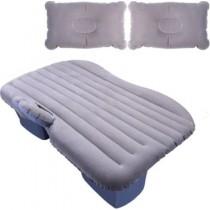 Araç İçi Şişme Yatak Araç Yatağı Araba Yatağı + Şişirme Pompası SİYAH